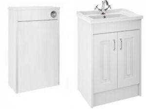 Traditional-Bathroom-Basin-Sink-Vanity-Unit-2-Door-Storage-Cabinet-Furniture
