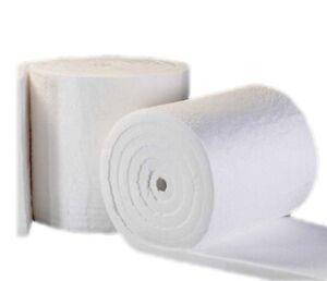 Ceramic Fiber Insulation Blanket 2600f 6lb 1 Quot X24 Quot X25 For