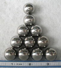 """Eleven (11) 3/4"""" Steel Ball Monkey Fist Cores~ Made in USA"""