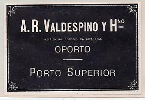 Etiqueta de Vino Gamarra /& Valenzuela Valdespino Jerez CU-300