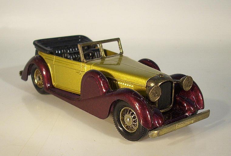 Venta barata Matchbox MoY Y-11 Lagonda Drophead Drophead Drophead Coupe (1938) raro Color oro púrpura OVP  2749  suministro directo de los fabricantes