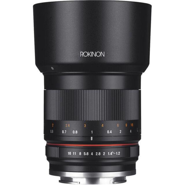Rokinon 50mm f/1.2 Lens for Canon EF-M - Black