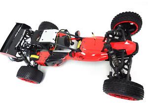 1/5 Rovan 305A Gas Desert Buggy RTR 30.5cc HPI Baja 5B King Motor Compatible Red