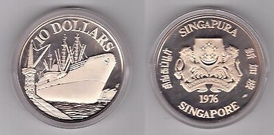 Kyrgyzstan 2012 Tiger 10 Som Silver Coin,Proof