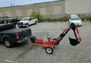 TOWABLE BACKHOE TOWABLE TRENCHER + 1 YEAR WARRANTY + FREE SHIPPING Canada Preview