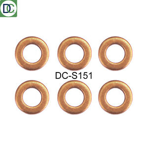 MERCEDES A C CLASS CDI INJECTOR BOLT AND WASHER SEAL KIT B PACK OF 6