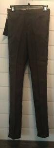 Alerte Vintage Wrangler étudiant Marron Bootcut Polyester Noir Jeans Taille: 30x34-afficher Le Titre D'origine