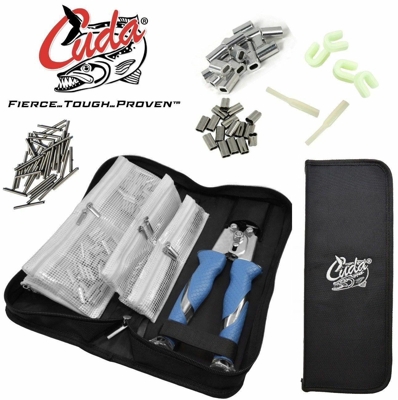 CUDA crimping struuominito 11 TITANIUM Bonded CRIMPER & accessoriES KIT