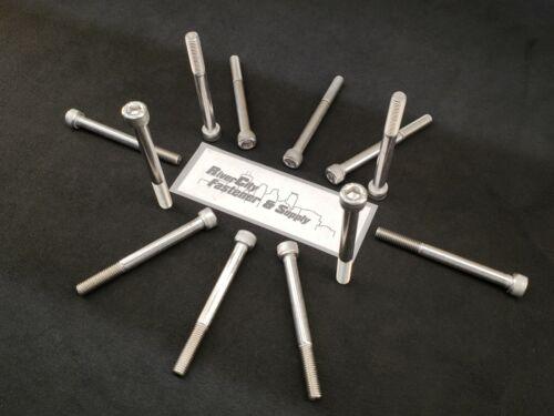 5 M10-1.5x100 Stainless Steel Socket Allen Head Cap Screw Steel 10mm x 100mm