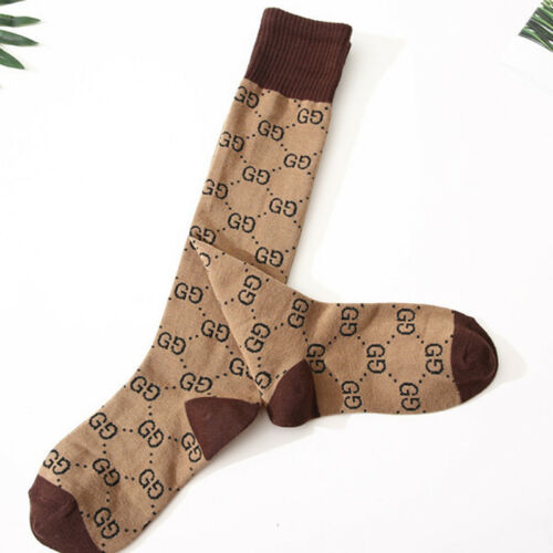 2019 GG Cotton Socks Double G Design One Size Fits 100/%NEW AAA HOT