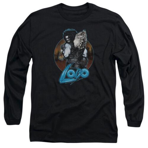 Lobo Long Sleeve T-Shirt Gutrot Black Tee