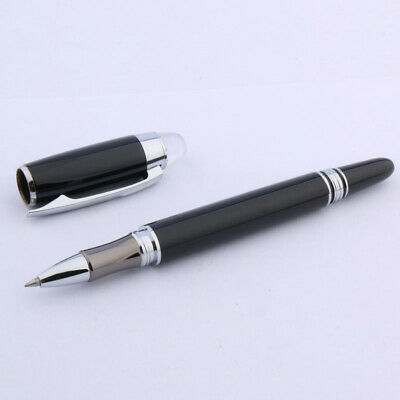 BAOER 79 black METAL SILVER rotate quality affordable Rollerball Pen