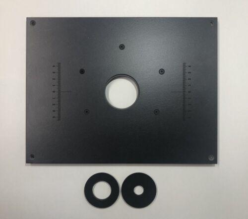 Frästisch//Tischfräse//Einlegeplatte//Befestigungsplatte//Grundplatte für Oberfräse