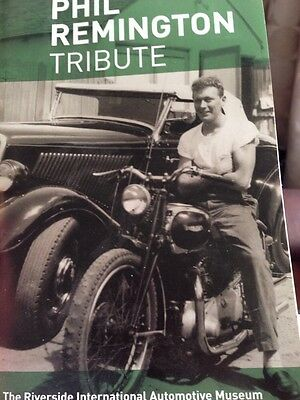Phil Remington Photographic Memorial Tribute Book