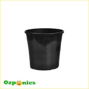 Plastic Garden Pot 10 x black plastic garden pot plant growing bucket 14l 310mm with image is loading 10 x black plastic garden pot plant growing workwithnaturefo
