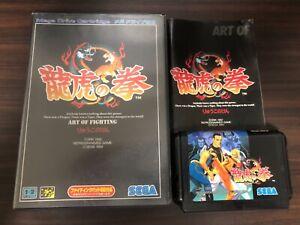 Ryuko No Ken Art Of Fighting Sega Mega Drive Japan Md Genesis Snk