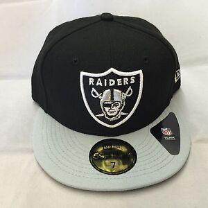 A imagem está carregando New-Era-Oakland-Raiders-59-Fifty-equipado-Preto- 8e37a7793fc
