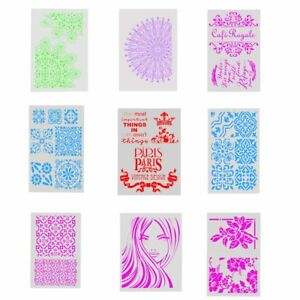 DIY-Craft-Layering-Stencil-Template-For-Walls-Painting-Scrapbooking-Stamping-New
