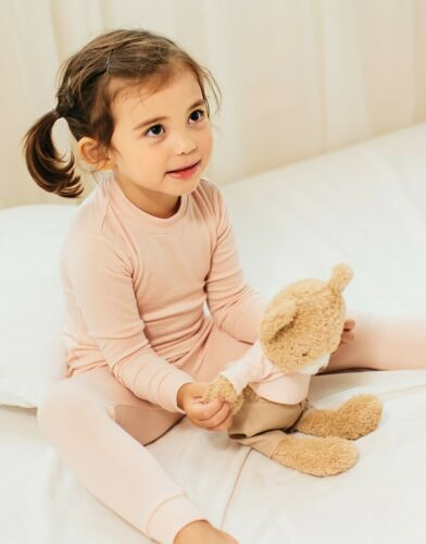 "Vaenait Baby Toddler Kids Clothes Long  Pajama Set /""Modal Milkpink/"" 18M-12Y"