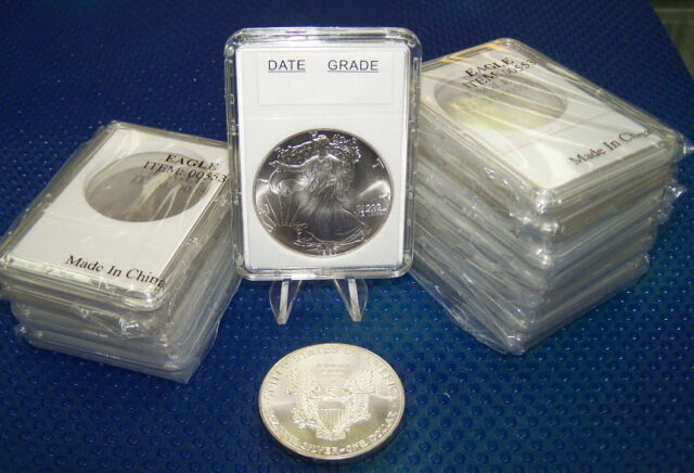 5 Premier Slab Coin Holders for DIME