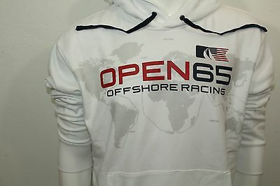 Polo By Ralph Lauren Offshore Racing Pullover Hoodie Sz Xlarge Color White Nwt