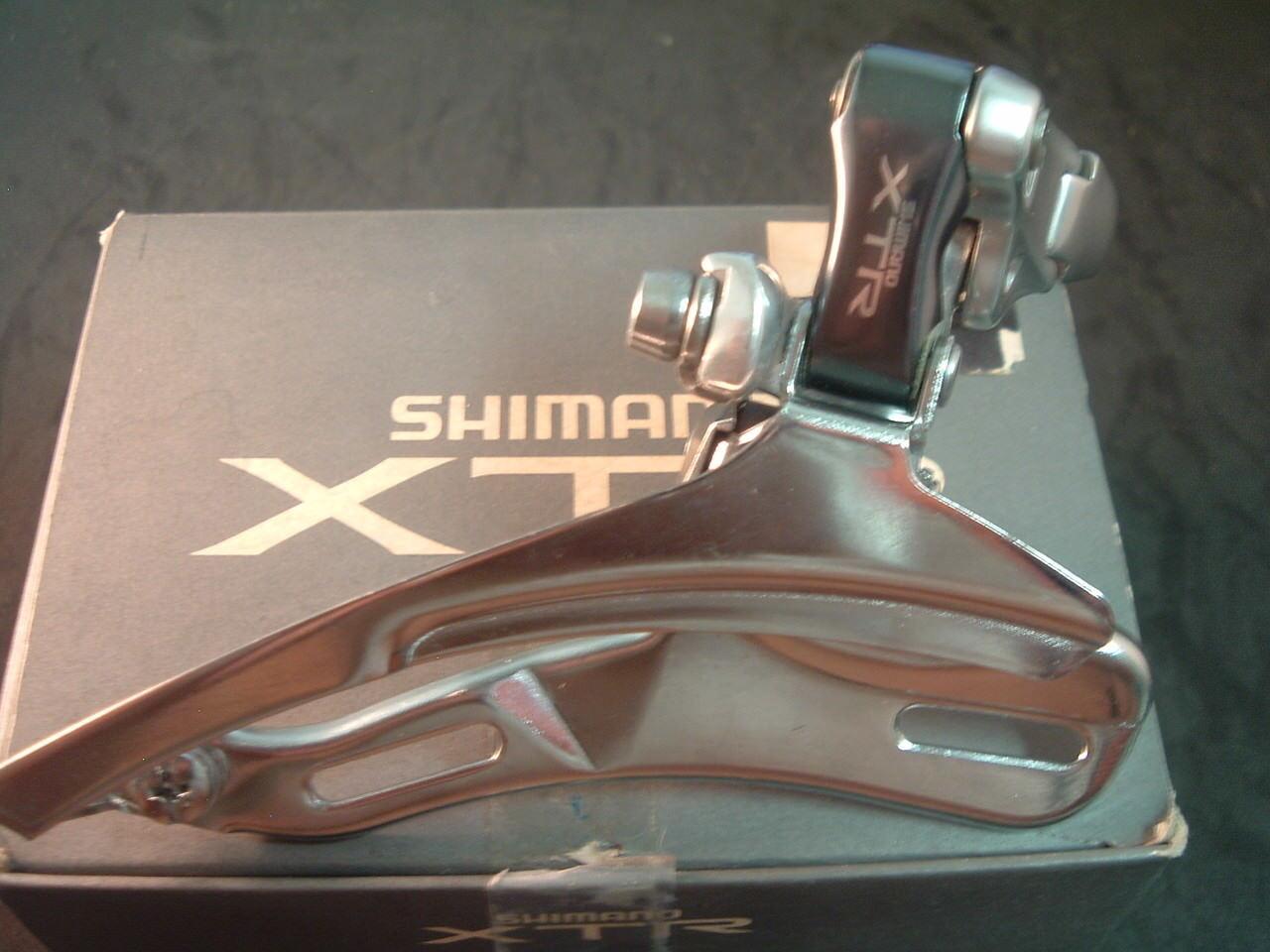 Shimano  XTR M901 31.8MM NEW NOS MTB Front Derailleur Vintage-TP BS-7 8-Spd- NIB  2018 latest