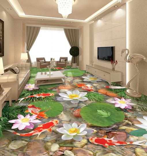 3D Lotus 401 Fototapeten Wandbild Fototapete Tapete Familie DE Lemon