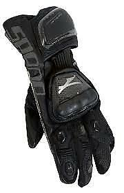 Spada-Elite-kangaroo-Leather-motorcycle-Gloves-Armoured-Sport-Race-Black