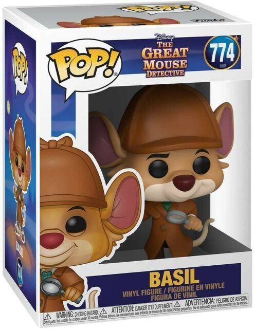 Funko - POP Disney: Great Mouse Detective - Basil Brand New In Box