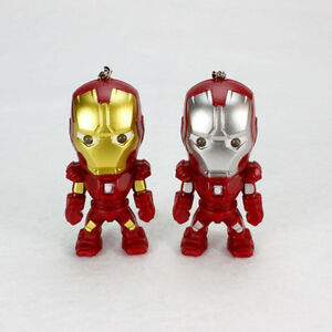 The-Avengers-Iron-Man-LED-Flashlight-Action-Figure-Toy-With-Sound-Keychain-Ring
