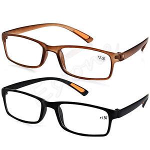 e96d019aa2 New Resin Framed Eyeglass Reading Glasses +1.0 1.5 2.0 2.5 3.0 3.5 ...