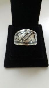 Vintage Ring Of The Russia Silver 100% Original Jewelry & Watches