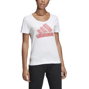 tee shirt adidas blanc femme