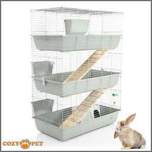Rabbit Guinea Pig 3 Tier Cage By Cozy Pet 100cm Rb100 T Rat