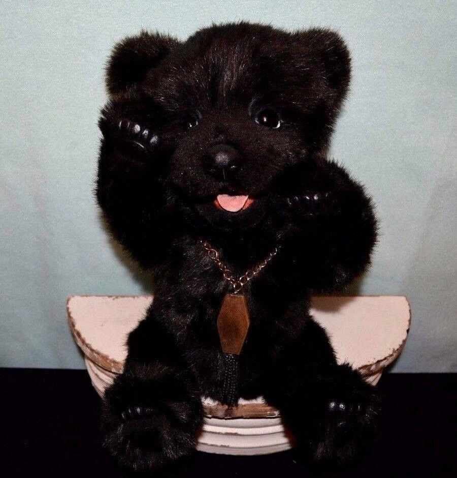 Artist Bear Dark Night 13.7