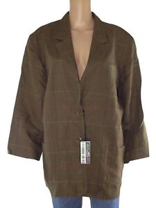 Caricamento dell immagine in corso max-mara-giacca-donna-verde-vintage -quadri-puro- aca934fdd8e
