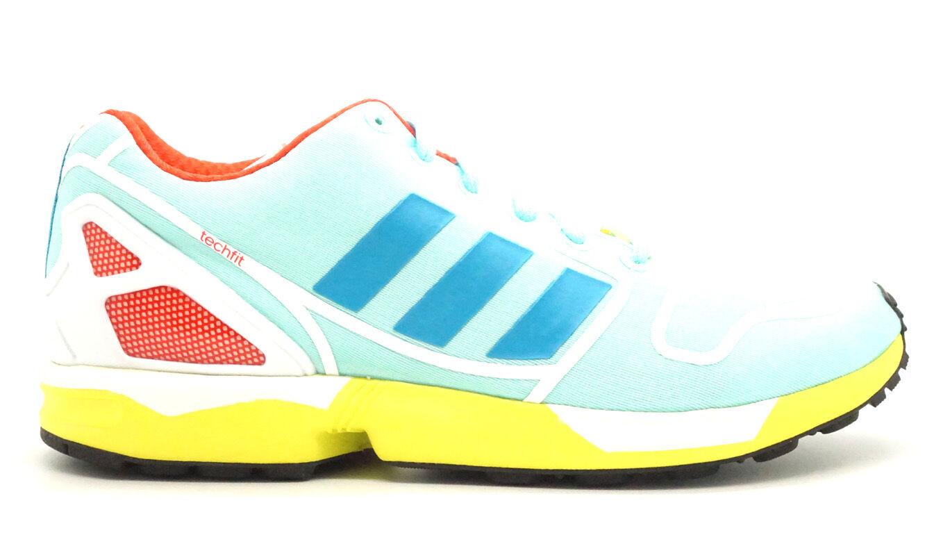 [AF6304 Adidas Zx Flux Hommes Baskets Adidas Adidas Adidas Claoua Boaoua Blanc Aquclam 6cc3d7
