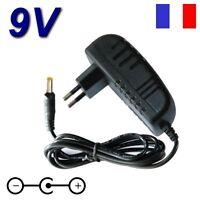 Adaptateur Secteur Chargeur 9v Pour Lecteur Portable Dvd D-jix Pvs 702-02