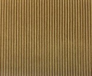 F Schumacher 43520 Pinstripe Velvet Camel Beige Upholstery