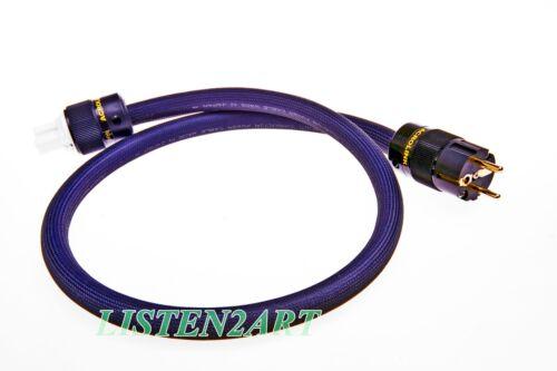 Furukawa PCOCC Audio Power Cable Cord Acrolink Cryo EU PLUG Length Selectable