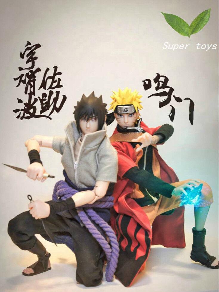 Pré-commande 1 6 Scale Fire Shadow Ninja Naruto & Ninja Sasuke Set