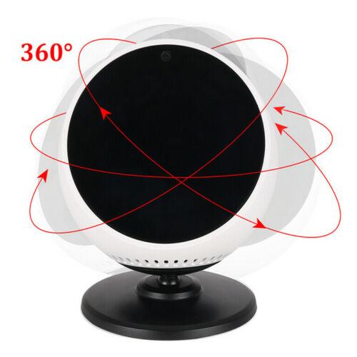 360° Rotation Adjustable Bracket Stand Base Parts For Echo Spot Smart Speaker