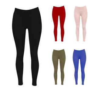 Womens-Leggings-Ladies-Thick-Fleece-Lined-Leggins-Winter-Warm-Thermal-Pants-TP