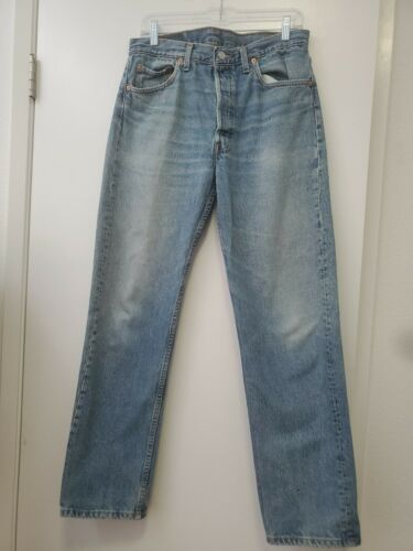 Vintage 501 Levis 34x32 Made In USA - image 1