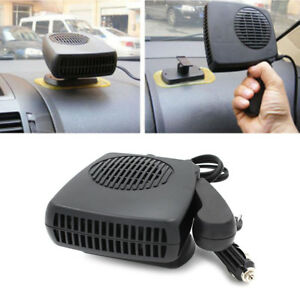 200w 12v Car Portable Ceramic 2in1 Heater Cooler Dryer Fan Defroster Demister Auto Replacement Parts
