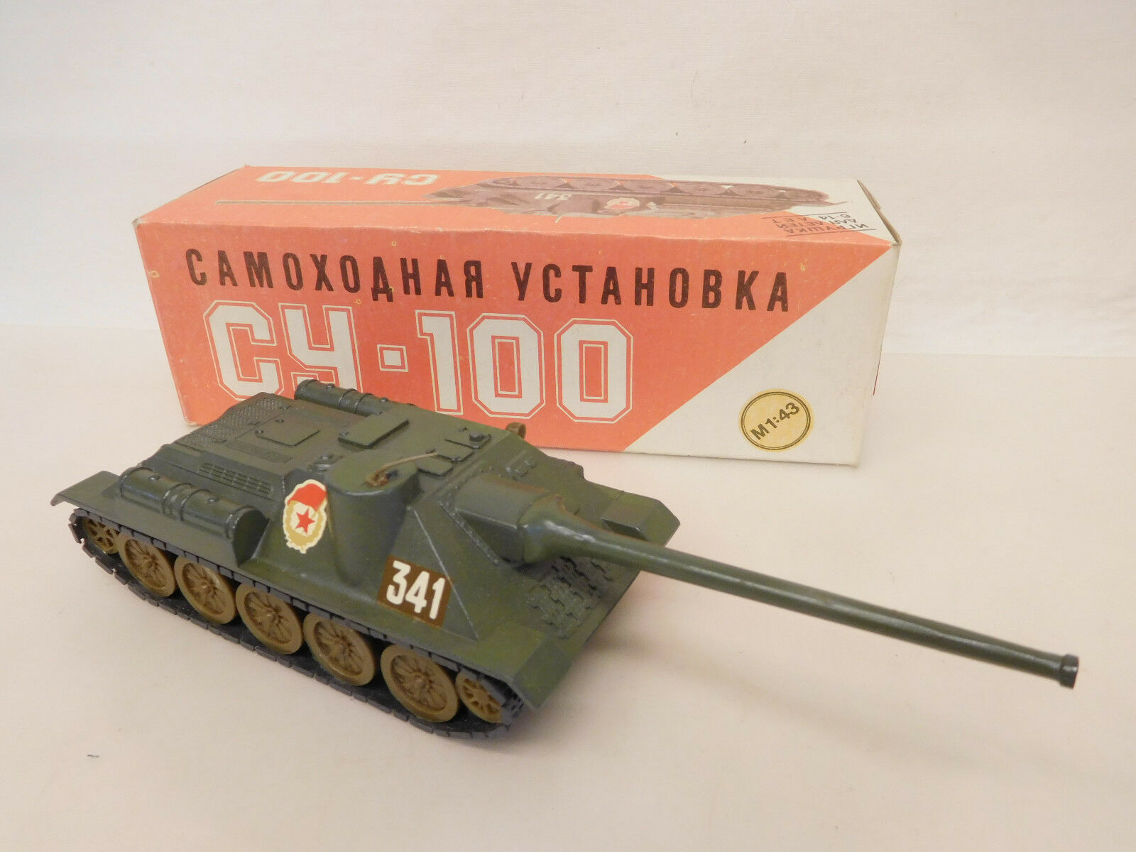 consegna gratuita e veloce disponibile Esf-02173 URSS Russia autori armati su-100, 1 43, mettuttio, mettuttio, mettuttio, buono stato  risparmiare fino all'80%