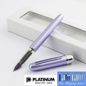 Platinum-Plaisir-Fountain-pen-Fine-Nib-Purple-body-With-Box-PGB-1000-28-2-Japan