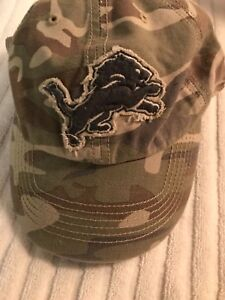 official photos ce384 01d1f Image is loading 039-47-Brand-Detroit-Lions-NFL-Franchise-Slouch-