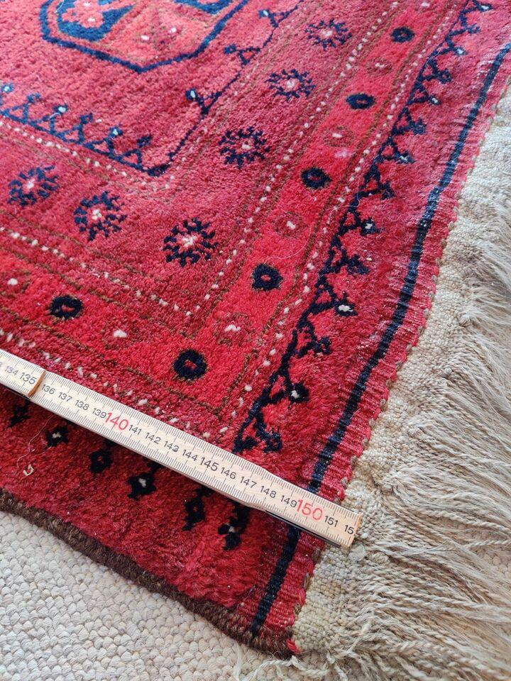 Gulvtæppe, ægte tæppe, b: 110 l: 150