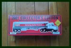 2001-EXXON-Collectors-2nd-Edition-Die-Cast-Metal-Collectible-Tanker-Truck-RARE